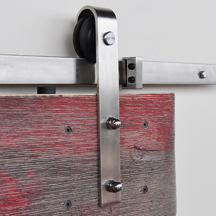 Single Stainless Steel Slade Barn Door Roller