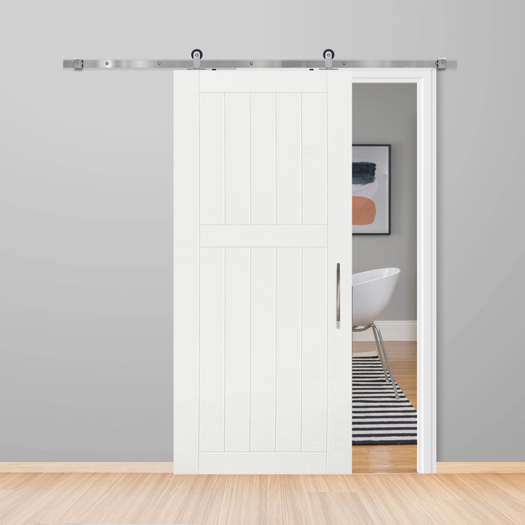 2 Panel Bungalow Barn Door