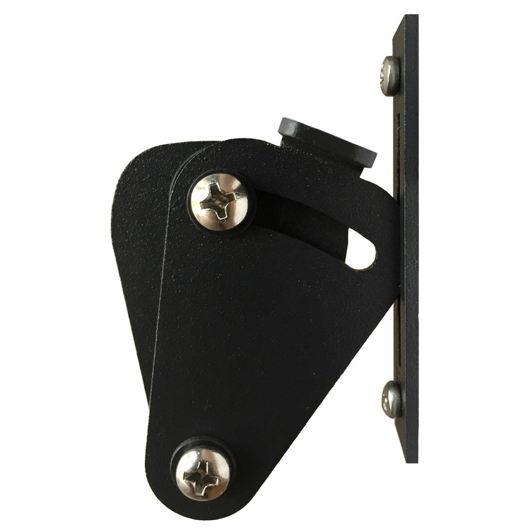 Barn Door Privacy lock in black finish