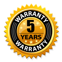 5 Year Warranty- Rolling Hardware