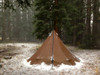 4 Person Tipi Hot Tent Combo