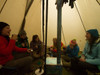 8 Person Hot Tent Group Gathering