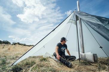 Cimarron Light Hot Tent Interior