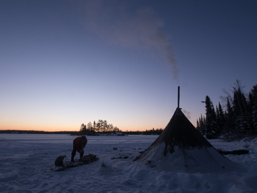 8 Person Hot Tent Boundary Waters
