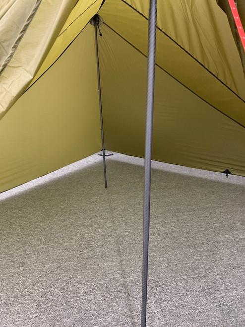 Carbon Pole for Trekking Pole Tents