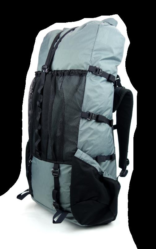 3a742fbe1b6 Seek Outside Divide 4500 Ultralight Backpack Right Quarter Gray