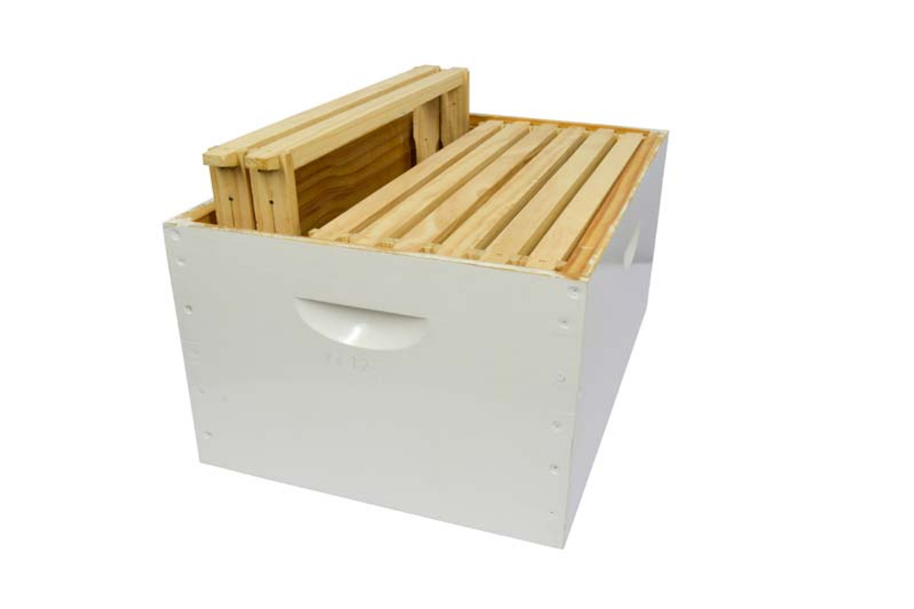 Assembled Super Honey Box With Assembled Wired Frames 8 Or 10 Frames