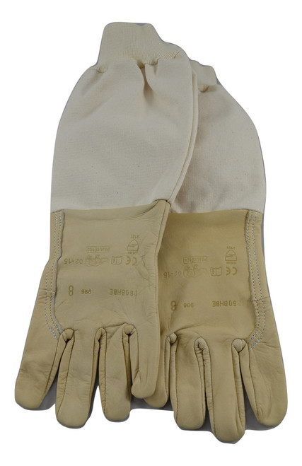 Washable leather gloves
