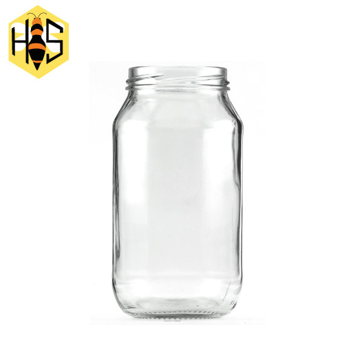 500ml Round glass jar