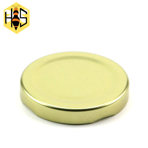58mm metal lid, for 190ml hexagonal jars