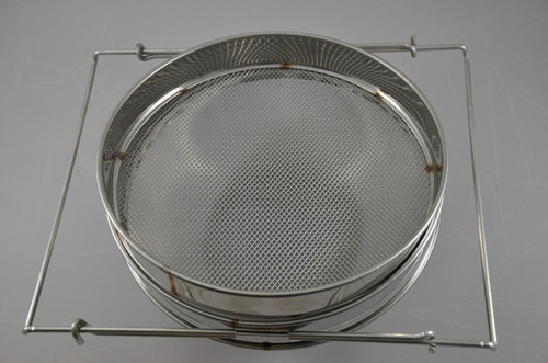 Double sieve stainless steel strainer