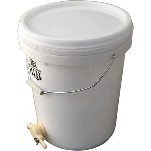 Honey Pail/Bucket 20-L with Gate/Tap
