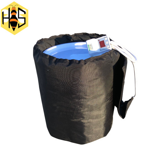 Heat blanket for pails
