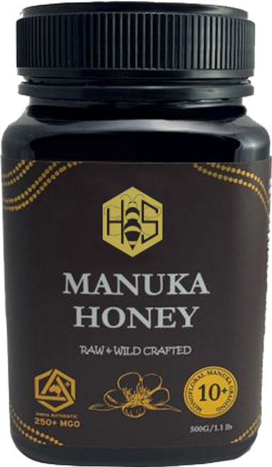 Local 10+ Manuka Honey - 250 MGO 500 G