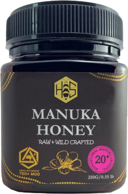 Local 20+ Manuka Honey - 750 MGO 250G