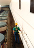 3M DBI-SALA Sayfline 20 ft Galvanized Permanent Multi - Span Horizontal Lifeline System - 7603020