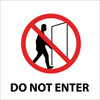 DO NOT ENTER (W/GRAPHIC), 7X7, PS VINYL