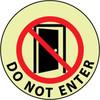 FLOOR SIGN, WALK ON, DO NOT ENTER, 17 DIAGLOW