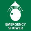 EMERGENCY SHOWER (W/GRAPHIC), 7X7, PS VINYL