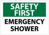 SAFETY FIRST, EMERGENCY SHOWER, 10X14, PS VINYL