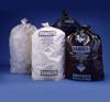 """6 Mil Clear 36""""x60"""" Printed Asbestos Bag 50/roll"""