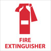 FIRE EXTINGUISHER (W/GRAPHIC), 7X7, PS VINYL