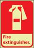 FIRE, FIRE EXTINGUISHER, 10X7, PS VINYLGLOW