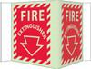 FIRE, VISI, FIRE EXTINGUISHER, 5.75X8.75, ACRYLICGLOW