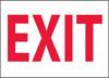 EXIT, 10X14, .040 ALUM