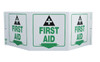 TRI-VIEW, FIRST AID, 7.5X20, RECYCLE PLASTIC