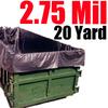 2.75 Mil 20 Yard Dumpster Liner