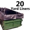 4 Mil 20 Yard Dumpster Liner