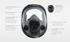 Honeywell North 5400 Series Full Face Respirator Medium/Large - 54001