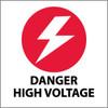 DANGER HIGH VOLTAGE, 4X4, PS VINYL, 5/PK