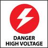 DANGER HIGH VOLTAGE (W/GRAPHIC), 7X7, PS VINYL