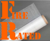 6 Mil 40'x100' Fire Rated String Reinforced Plastic Poly Sheeting & Construction Film