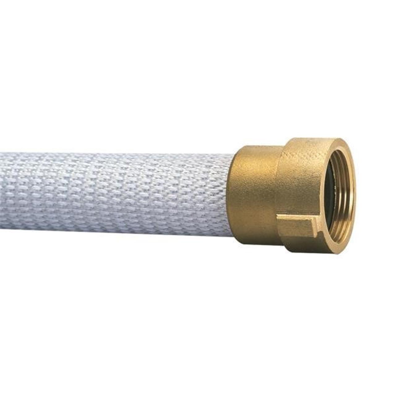 1 Unit Brass NPSH Coupled FireTech Rack /& Reel Hose 1 1//2 x 75,