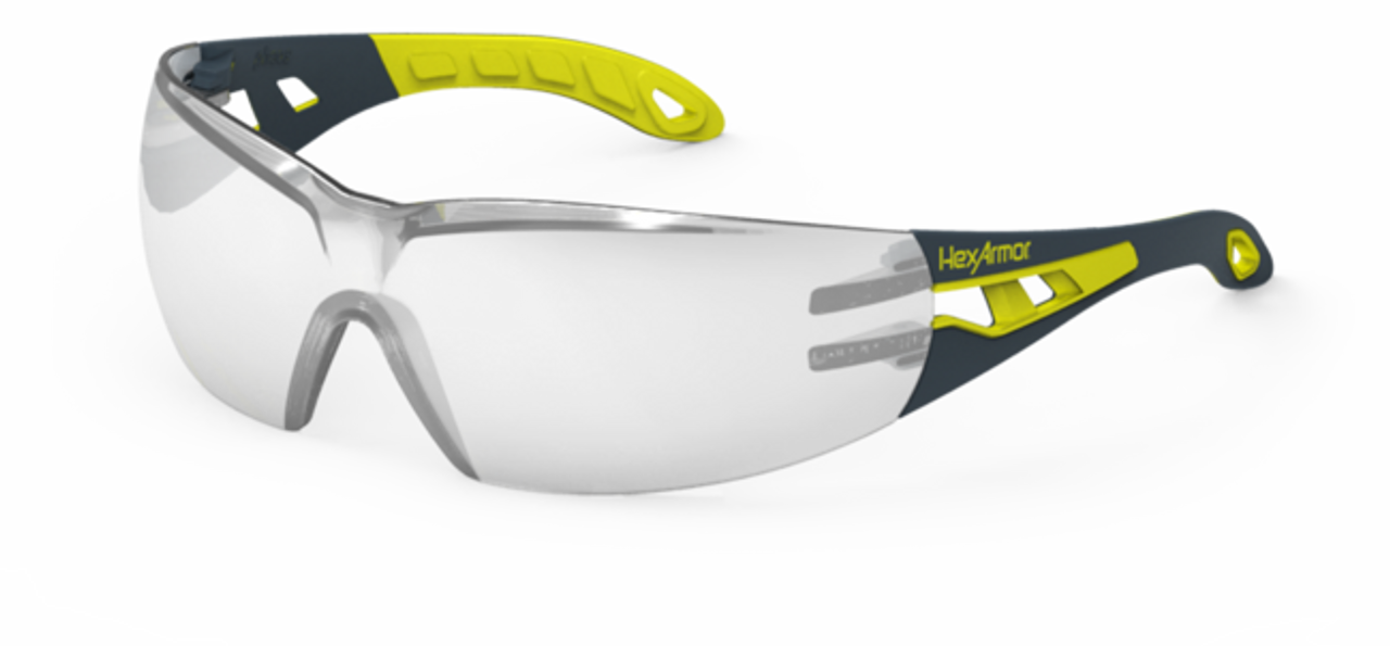 2cd2c22a06bf3 HexArmor MX200 Anti-Fog Inside Silver Mirror Safety Eyewear - 12/Pair