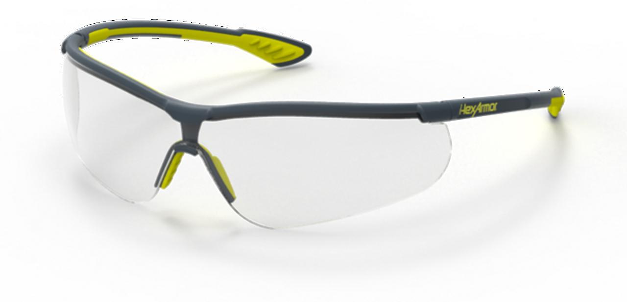 1c744d6c67b7b HexArmor VS250 TruShield 2SF Clear Safety Eyewear - 12 Pair - Jendco Safety  Supply