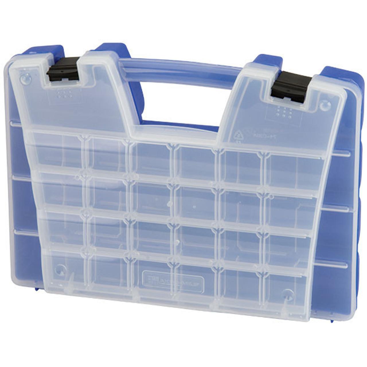 "Akro-Mils® Portable Storage Organizer 46 Compartments 15""L x 3 1/4""H x 11 5/6""W - 06115AM"