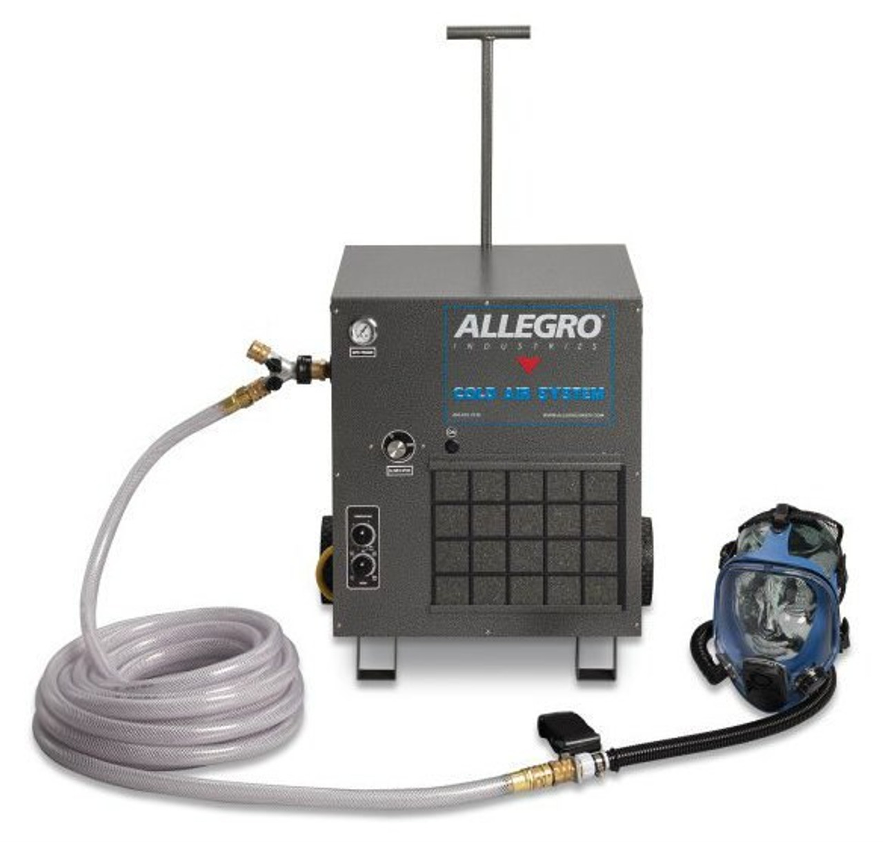 Allegro Full Face Mask Cold Supplied Air System 9200 01ca 9200
