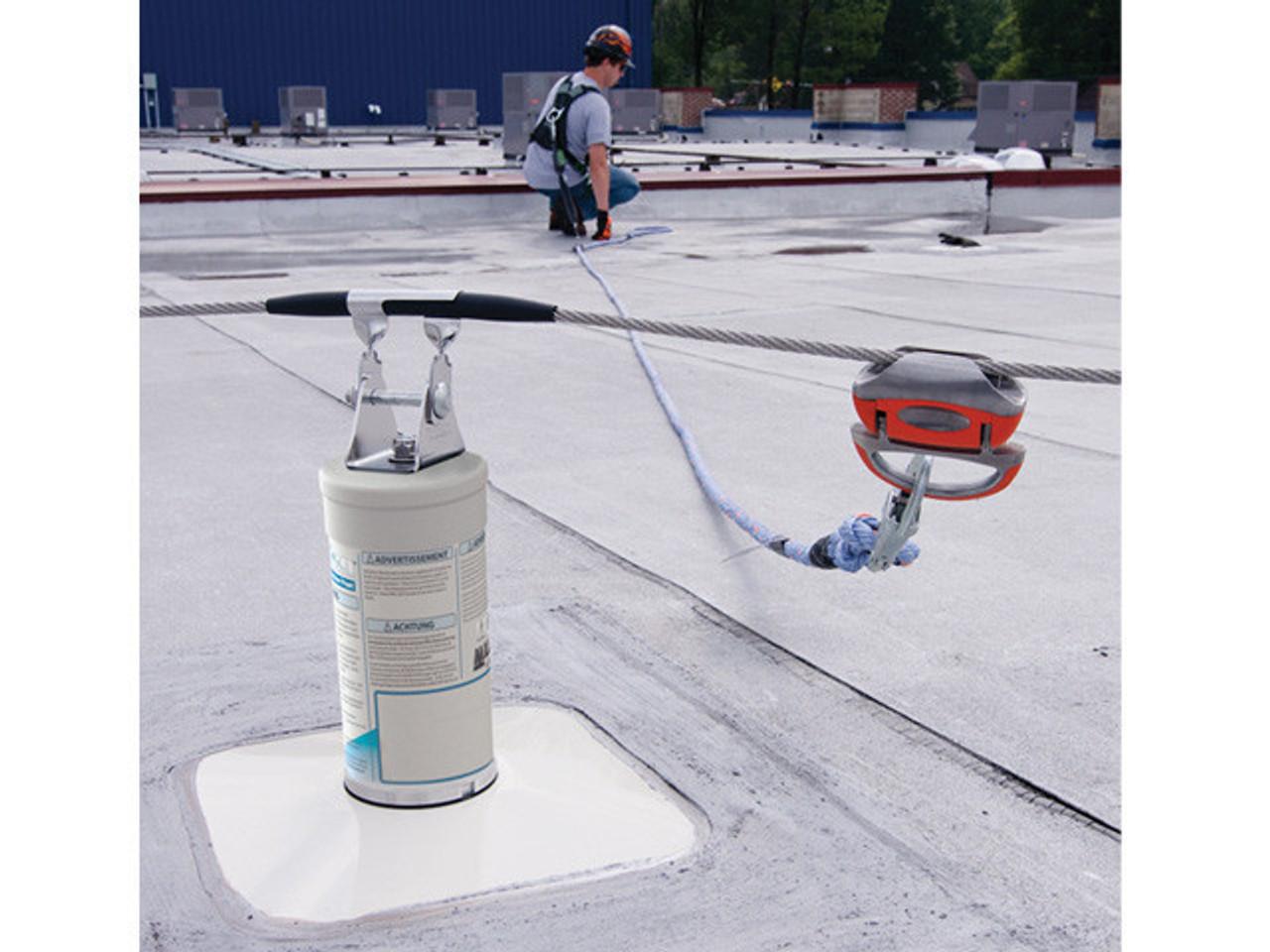 Miller Shockfusion Horizontal Lifeline Roof System Amp Kits
