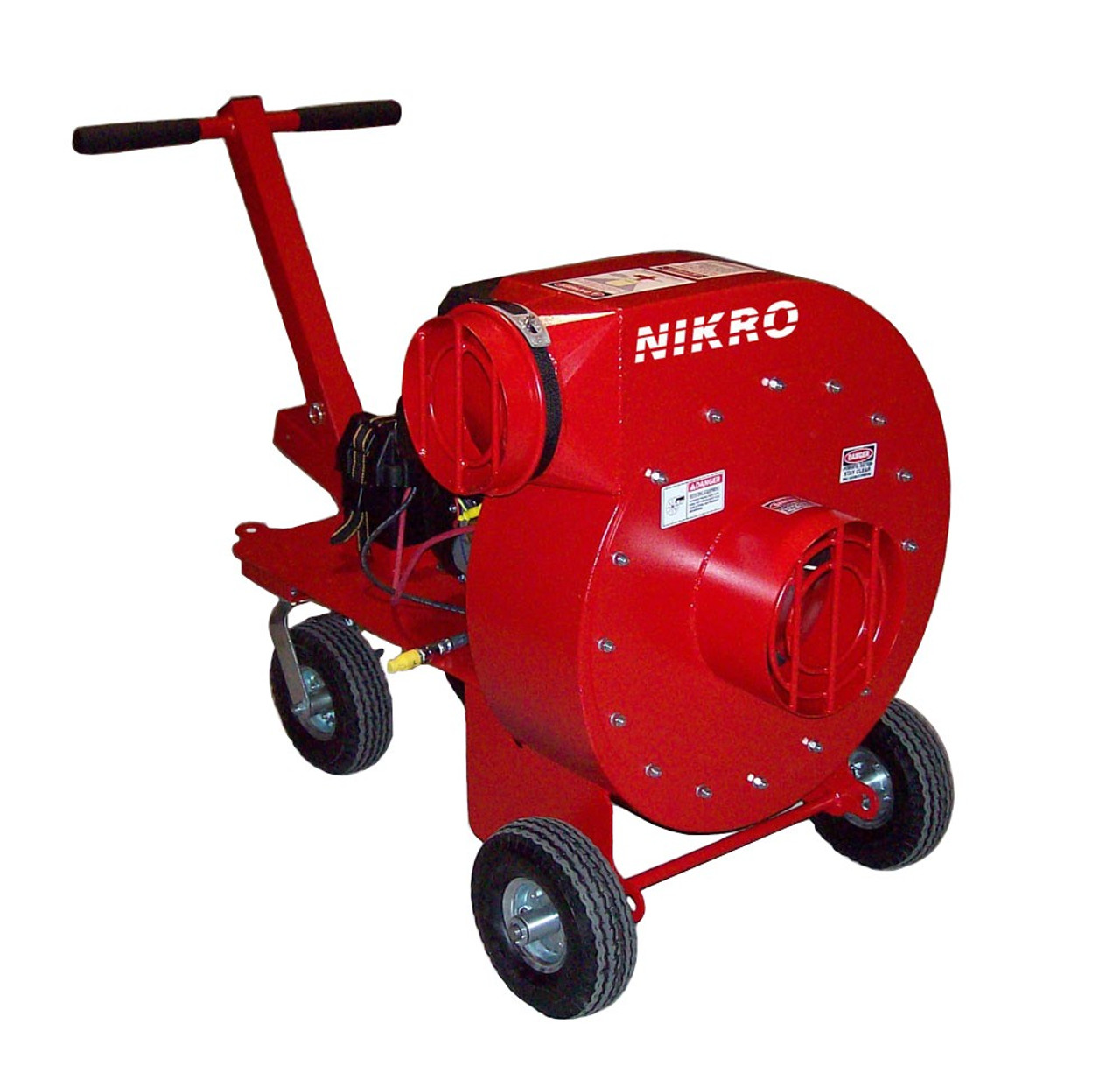 Nikro Hp20gas Portable Gas Powered Air Duct Cleaning System 20 Hp Jendco Safety Supply
