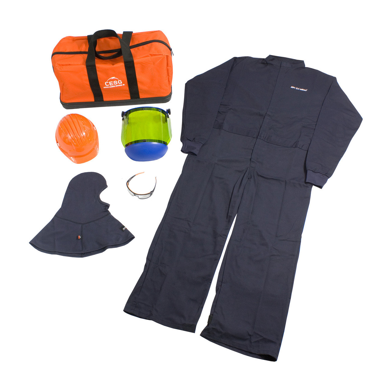af89c72b183b PIP HRC 2 ARC Flash Coverall Kit - 8 Cal cm2  Small - 4XL  9150-51834 -  Jendco Safety Supply