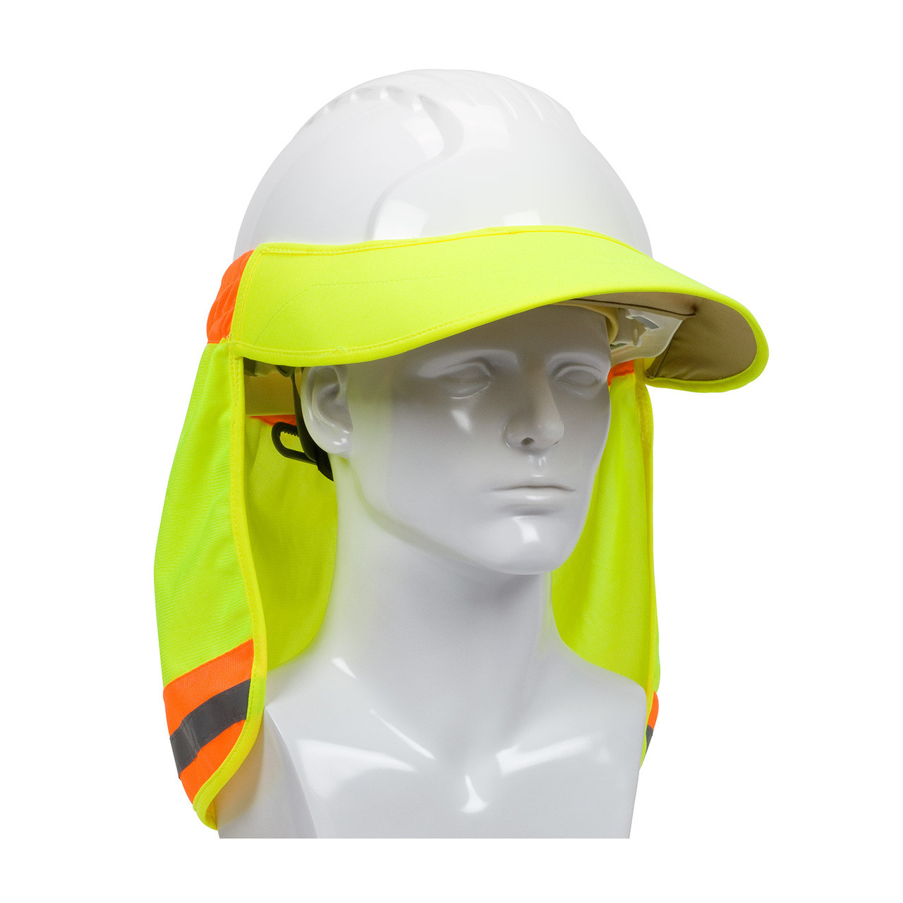 5326a181 EZ-Cool® Hi-Vis Hard Hat Visor and Neck Shade 396-800 - Jendco ...