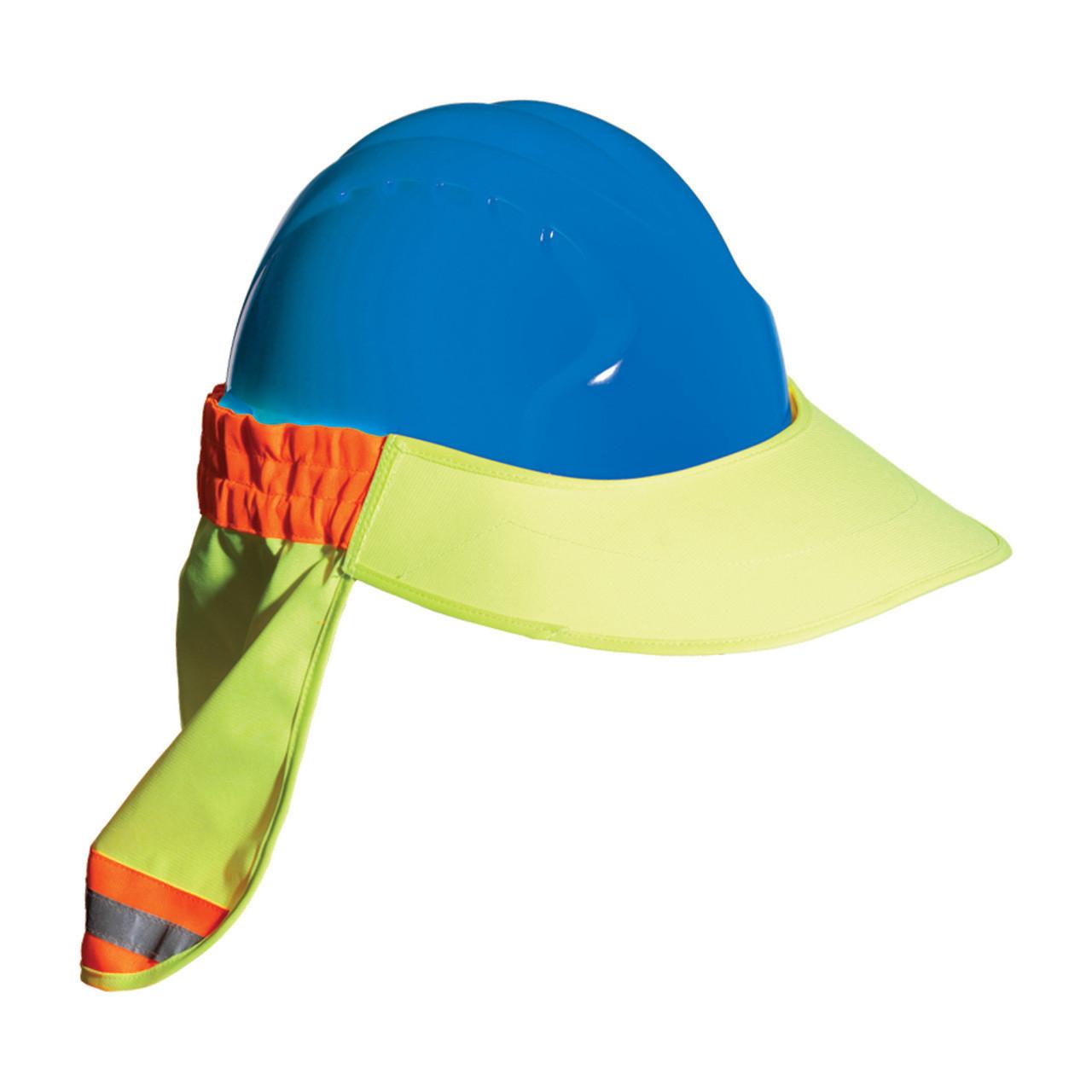 5566b8cb54b EZ-Cool® Hi-Vis Hard Hat Visor and Neck Shade 396-800 - Jendco ...