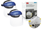 Dust Mask & Face Shield Combination Kits