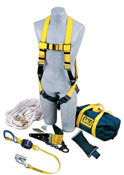 3M DBI-SALA Roofer's Fall Protection Kit - Heavy - Duty Anchor - 2104168