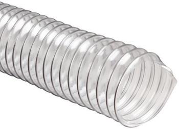 "Heavy Duty Clear PVC Flex Duct - 12""x25' - 1 Each"
