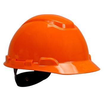 3M Hard Hat H-706R - Orange 4-Point Ratchet Suspension - 20 EA/Case